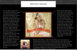 Britney Spears Analysis
