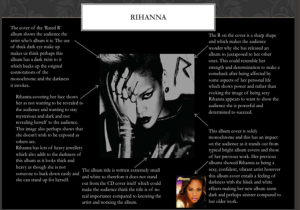 Rihanna Analysis